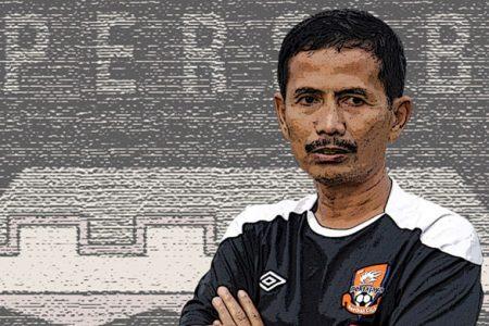 Pelatih Persib Bandung Djadjang Nurjaman