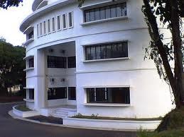 GEDUNG UNIVERSITY CENTER UPI, tempat berlangsungnya pemeriksaan auditor dari inspektorat jenderal Kementerian Pendidikan dan Kebudayaan, Jumat (17/7/2013) (musthafadenry)