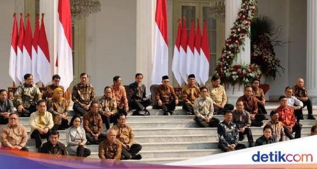 Daftar Menteri Kabinet Pemerintaan Jokowi-Ma'ruf 2019-2024