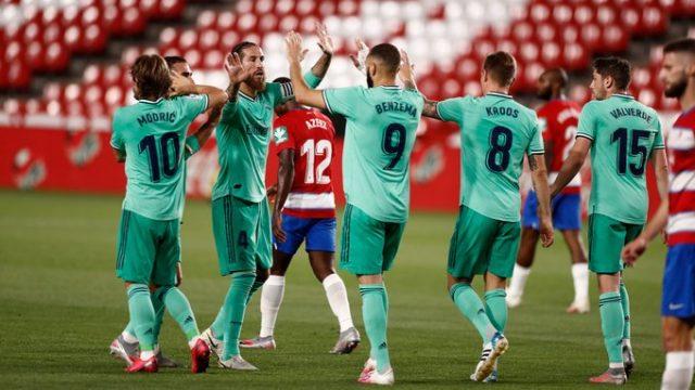 Granada vs Real Madrid 1–2 Highlights