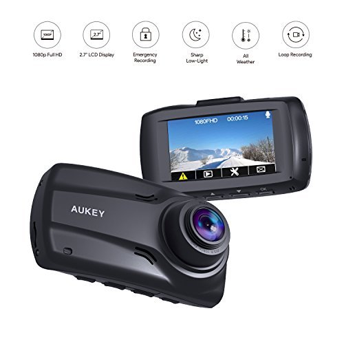 AUKEY 1080p Front and Rear Dual Dash Cams Review