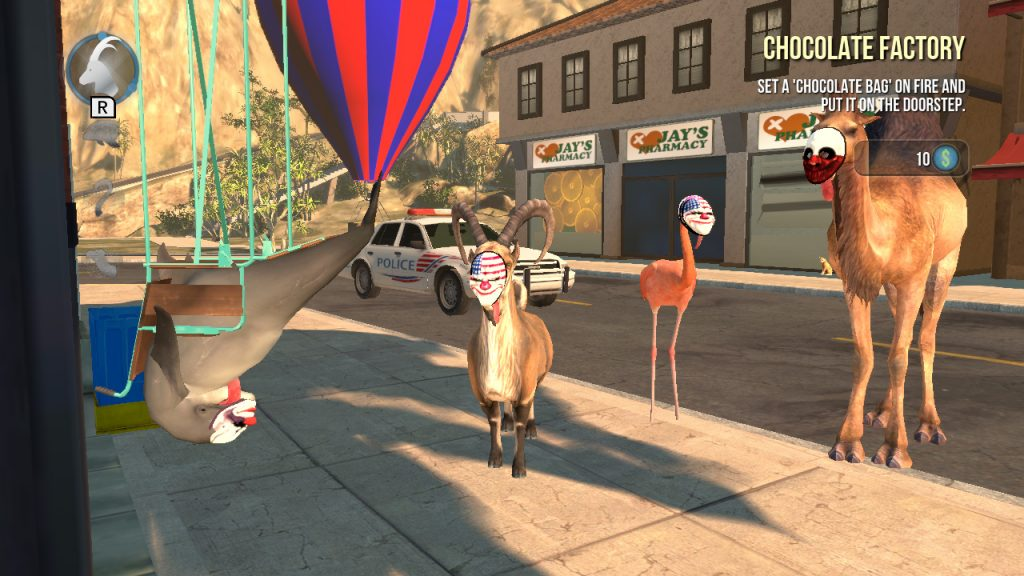 Goat Simulator: The GOATY Nintendo Switch Review