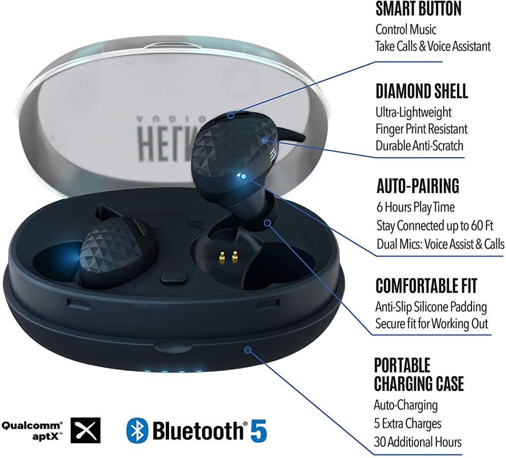 HELM True Wireless 5.0 Headphones Review
