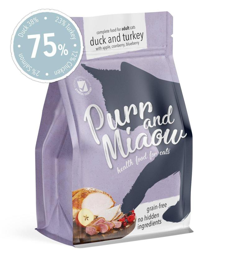 Purr and Miaow Healthy Cat Food Review