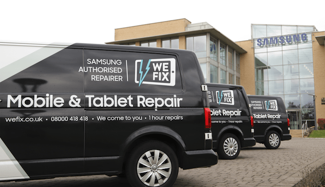 Wefix Smartphone & Tablet Repair Service Review