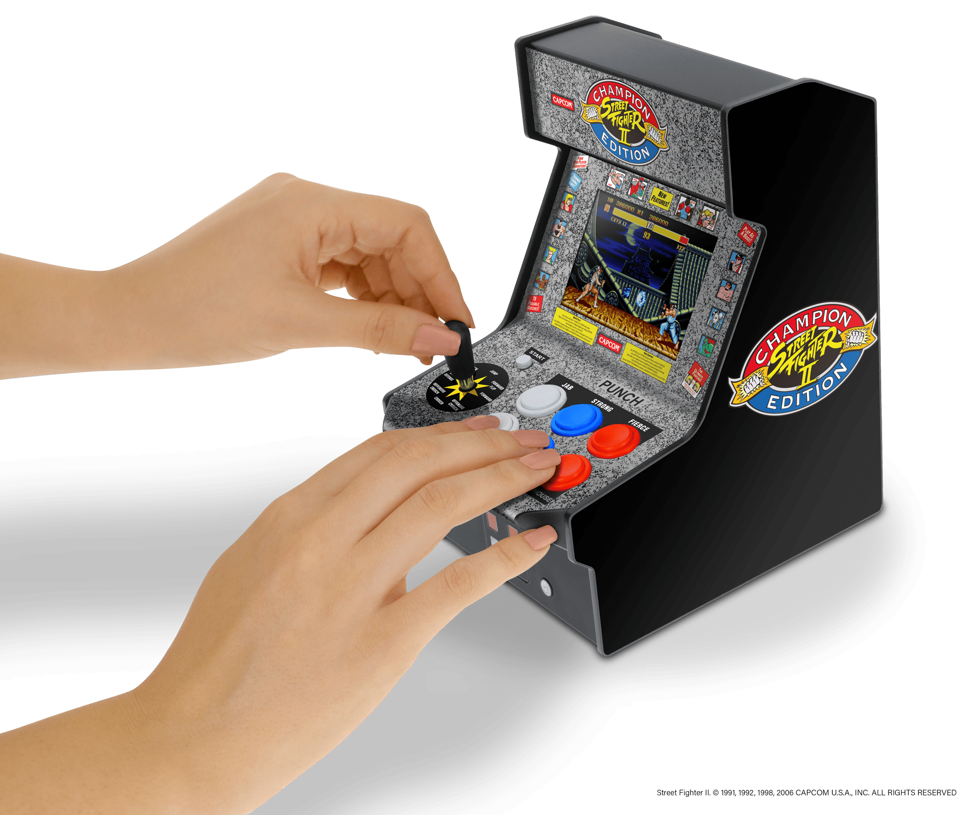Ces 2020 My Arcade Announces Street Fighter Ii Champion Edition