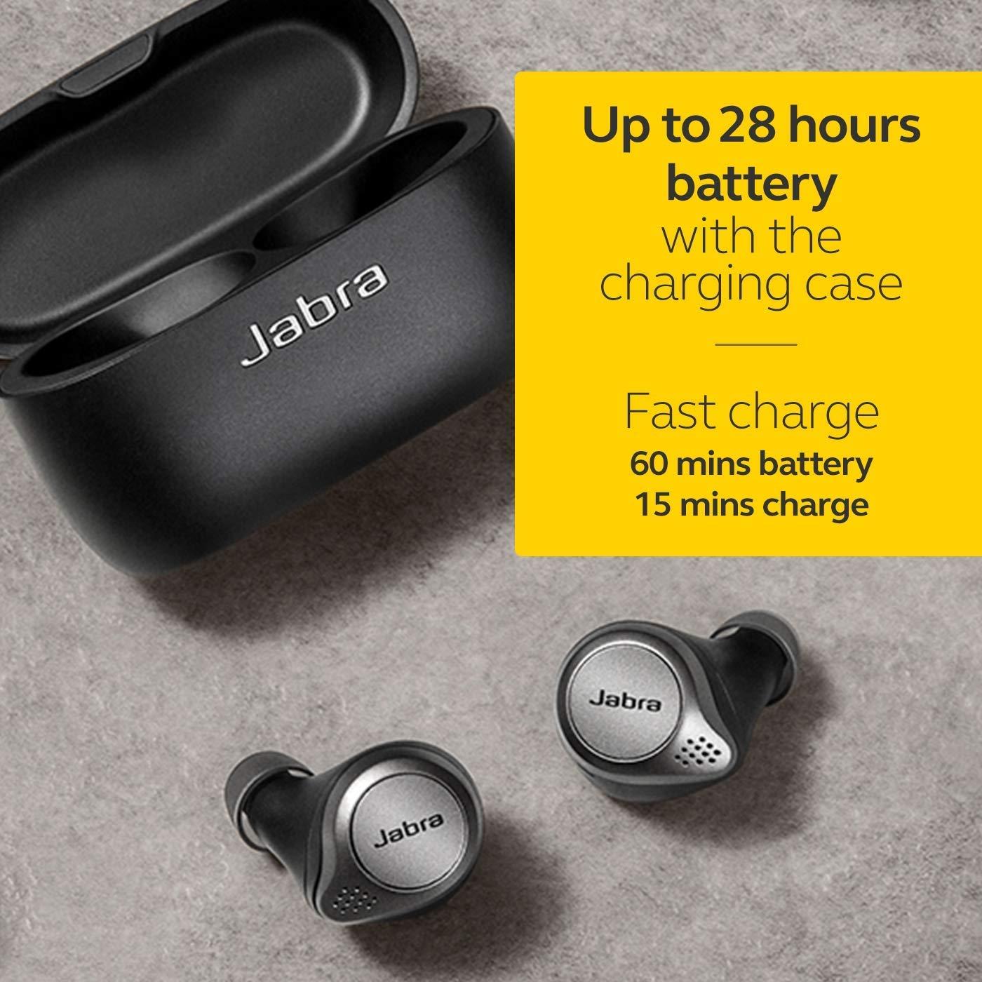 Jabra Elite 75t True Wireless Earbuds Review
