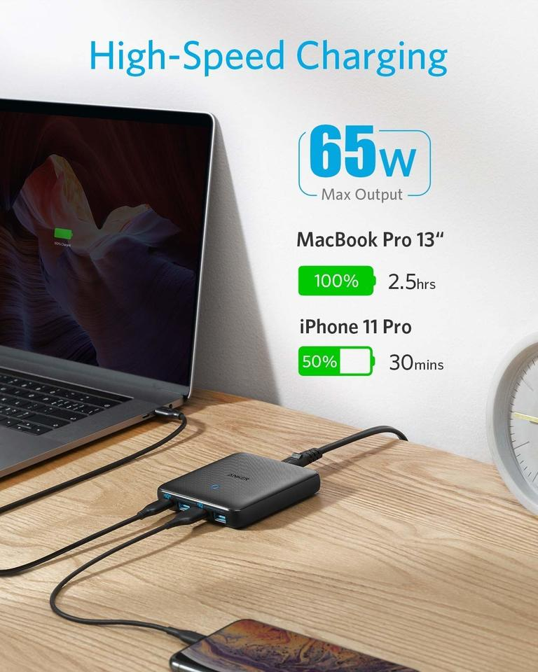 PowerPort Atom III Slim 65W Charger Review