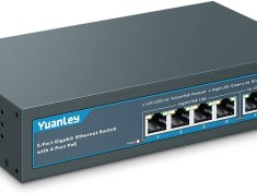 YuanLey 5 Port Gigabit PoE Switch Review