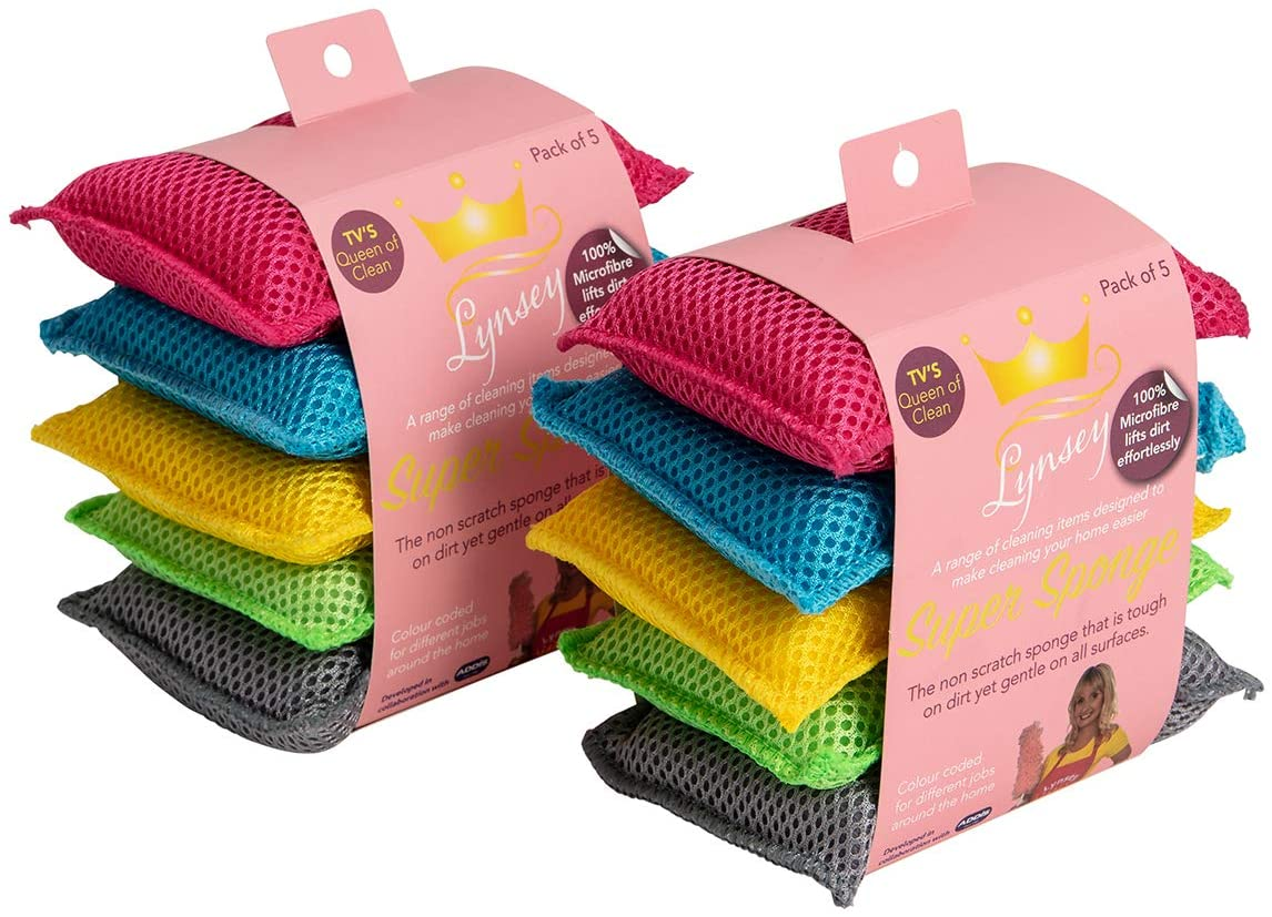 Lynsey Queen of Clean Microfibre Super Cleaning Pad