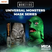 NECA Unleashes Universal Monsters with a Series of Limited-Edition Collectible Masks!