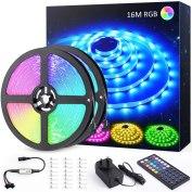 Novostella 16m Multicolour RGB LED Light Strip Kit Review - 10% Off