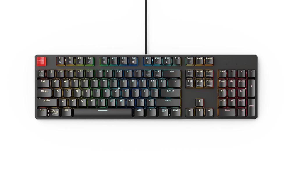 Glorious PC Gaming Race GMMK Keyboard and 3XL Gaming Mouse Pad Review