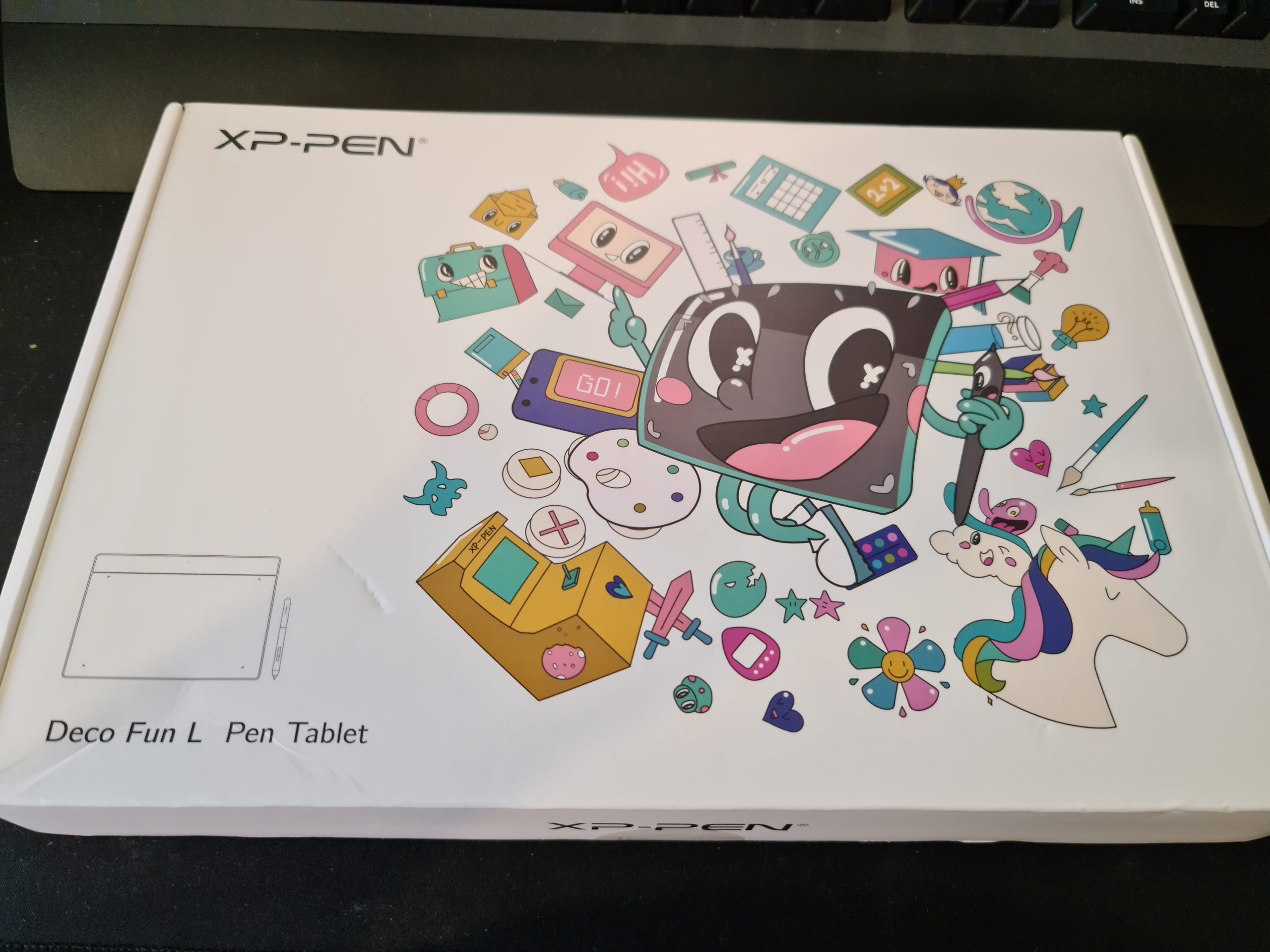 XP-PEN Deo Fun Drawing Graphic Tablet Review