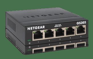 NETGEAR GS305 Unmanaged 5-Port Gigabit Ethernet Switch Review