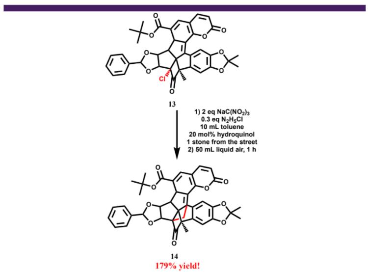 Figure 5: Synthesis of an Impracticatechol precursor