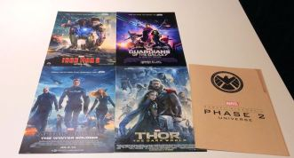 ... These AMAZING posters from Phase 2 of the Marvel Cinematic Universe!