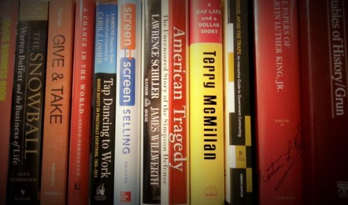 Books on Shelf (Tint)