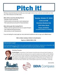 FMBCC Pitch It Workshop