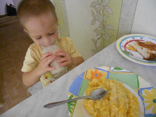питательный завтрак для малыша 6