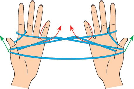 игры с нитками - плетенка5