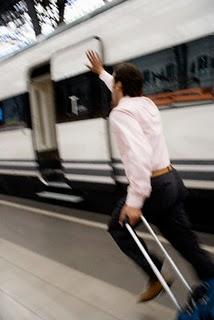 catch a train in Asia