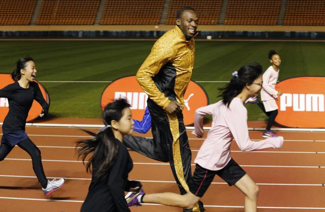 Usain Bolt new world record 200m