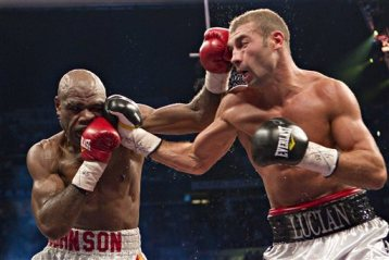 Glen Road Warrior Johnson boxing Jamaican boxer