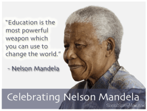 How old was Nelson Mandela when he died?
