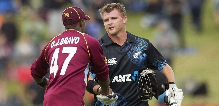 New Zealand beats wins West Indies