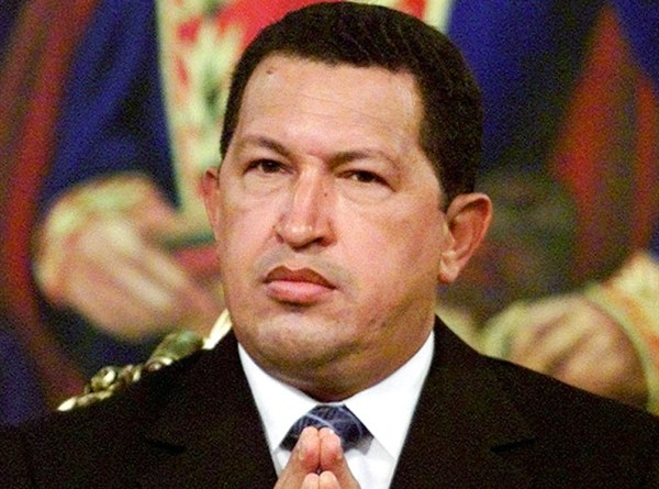 Hugo Chavez was part black wore afro
