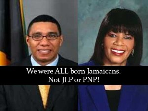 Jamaicans fight JLP vs PNP