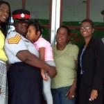 Leilani Ferron cerebral palsy 5 year old Jamaican girl