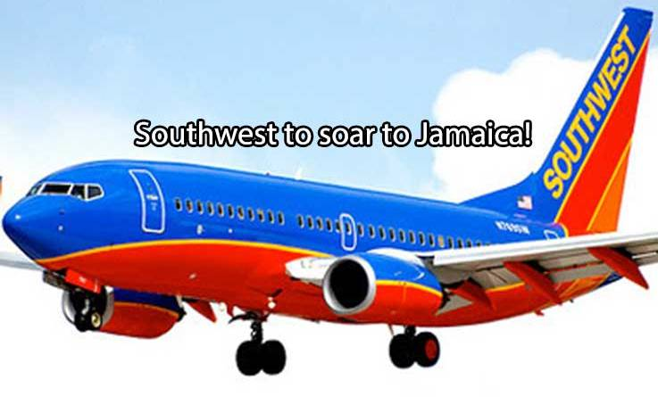 Southwest to begin flying to Jamaica