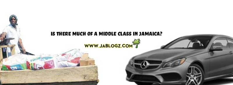 no middle class in Jamaica only rich and poor