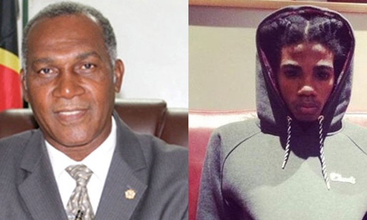 Prime Minister of Nevis says no to alkaline performance negative influence artist