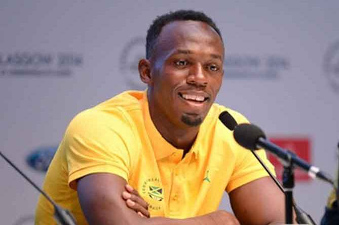 Usain Bolt wants to break world indoor record