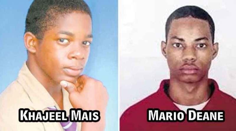 Khajeel Mais Mario Deane We need justice