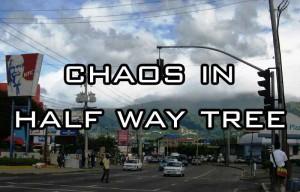 madman mentally ill man disarm police shoot people Half Way Tree Kingston jamaica