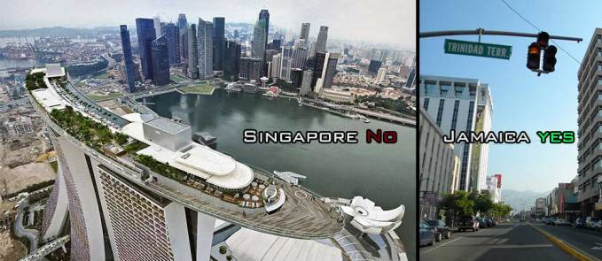 Jamaica and Singapore economy
