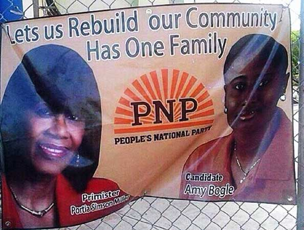 PNP poster has one family