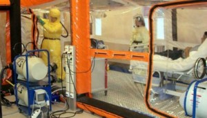 Ebola quarntine facility in Canada - Image Source: breitbart.com