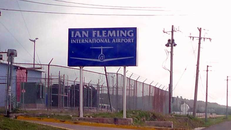 Expand Ian Flemming airport