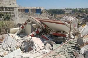 Haiti earthquake - Image via wired.com