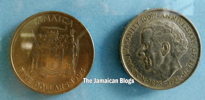 Jamaican-coins-five-dollars