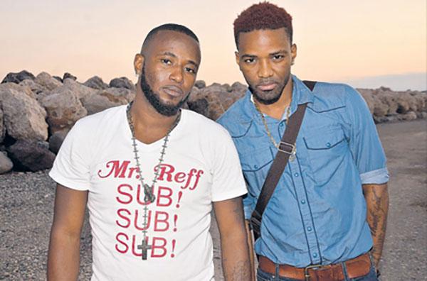 Delus (left) and Konshens via jamaicaobserver.com
