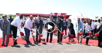 PM Breaks Ground For Southern Coastal Highway Improvement Project