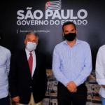 Secretário Estadual de Habitação apoiará projeto apresentado pelo prefeito Silvio Vaz