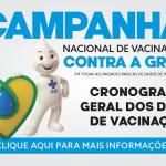 DIA D DE VACINAÇÃO CONTRA A INFLUENZA SERÁ NESTE SÁBADO (17/04)