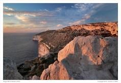 Dingli cliffs, sunset